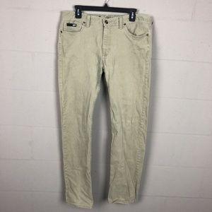 Vans Men's Slim Straighy Jeans Size 32 Green TP25